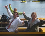 Dutch ladies on charter cruise